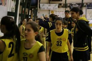 Atlete dell'under 13 femminile (Foto Mauro Mascia)