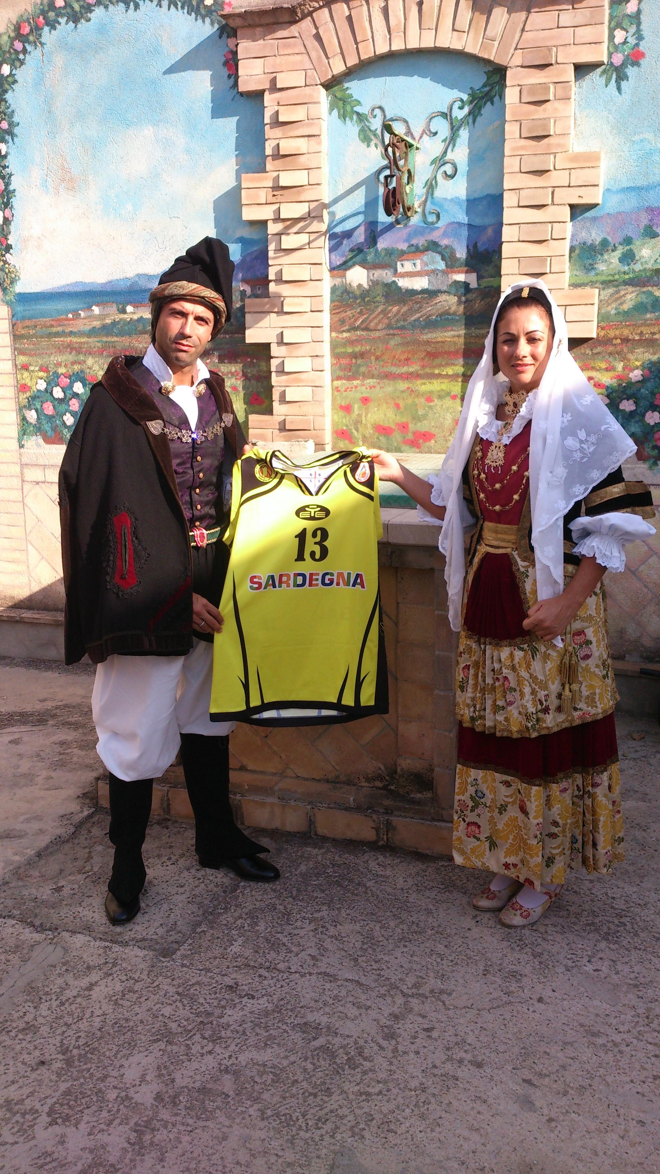 Sposi matrimonio selargino - Selargius Basket San Salvatore